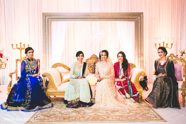 Bridal Fashion in San Jose, CA Indian Wedding by Naveed Ahmad Photography