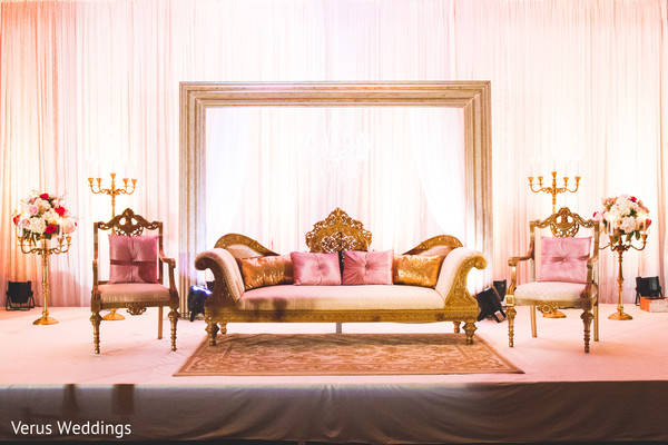 Sweetheart Stage in San Jose, CA Indian Wedding by Naveed Ahmad Photography