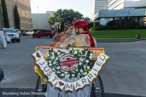 just married,wedding ideas,indian couple