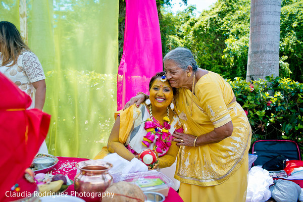 Indian Pre-Wedding Portrait in Cancun, MX Indian Wedding by Claudia Rodriguez Wedding Photography