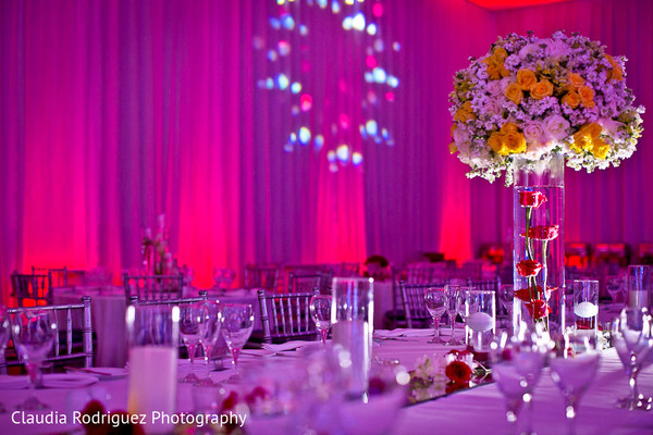 Indian Wedding Decor in Cancun, MX Indian Wedding by Claudia Rodriguez Wedding Photography