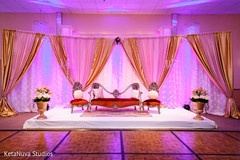 Inspiration Photo Gallery – Indian Weddings: Reception backdrop ...