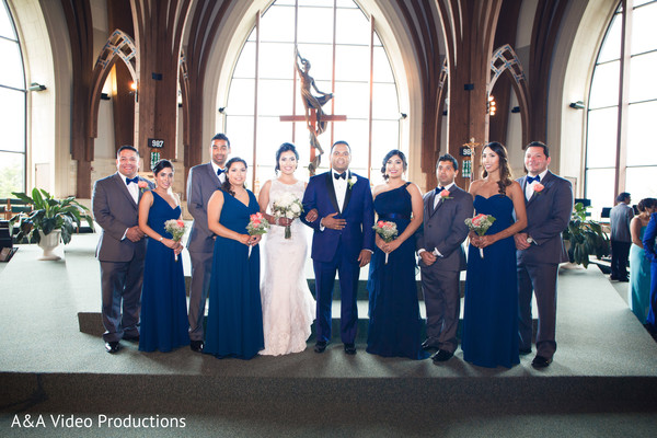 Catholic Church Wedding in Austin, TX Fusion Indian Wedding by A&A Video Productions