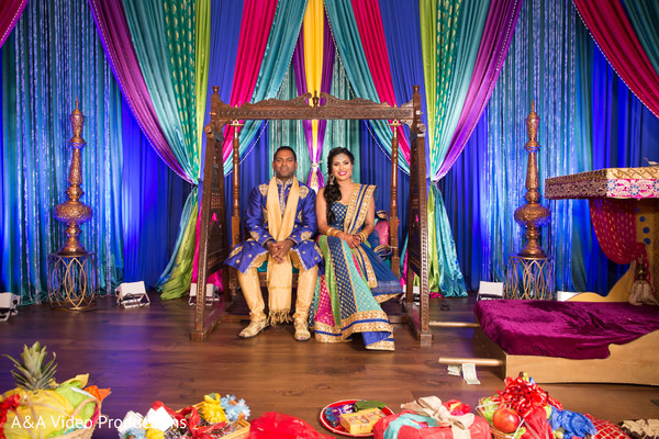 Indian Bride and Groom Pre-Wedding Celebration in Austin, TX Fusion Indian Wedding by A&A Video Productions