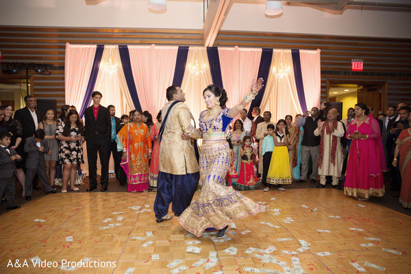 Indian Bride and Groom Performance in Austin, TX Fusion Indian Wedding by A&A Video Productions