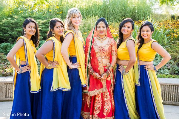 indian bridesmaids' fashion,indian bridesmaids,indian bride