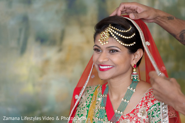 indian bridal portrait,indian bride,bridal portrait,bridal fashion,bride wearing red saree,indian bridal fashion