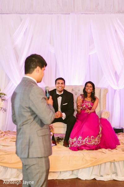 Indian Wedding Reception Speech Photo 82277