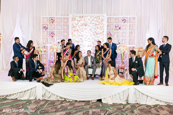 wedding party,wedding party portrait,wedding party picture,wedding party photo,wedding party photo on stage