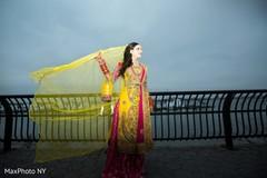 Indian bride, Indian bridal, indian bridal portrait, Indian Bride Fashions, Indian Bride Style, mehndi party, mehndi night, pre-wedding ceremony, pre-wedding festivities, indian pre-wedding