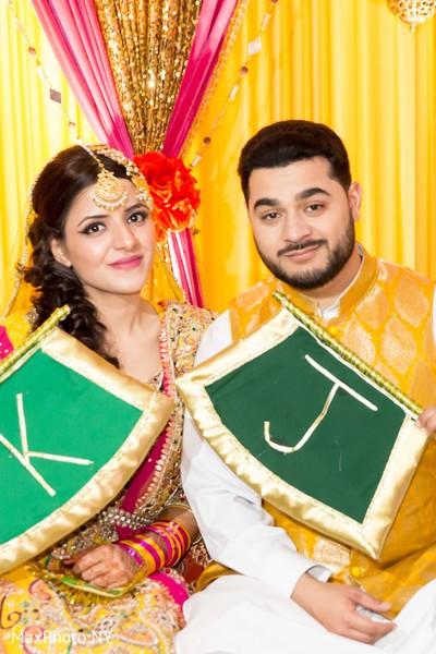 Bride and Groom Mehndi Night