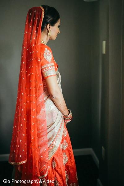 indian bride portrait,indian bride,indian bride lengha