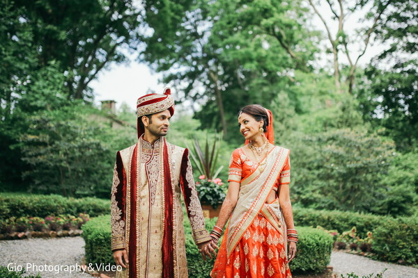 indian bride and groom portrait,pre-wedding ceremony photography