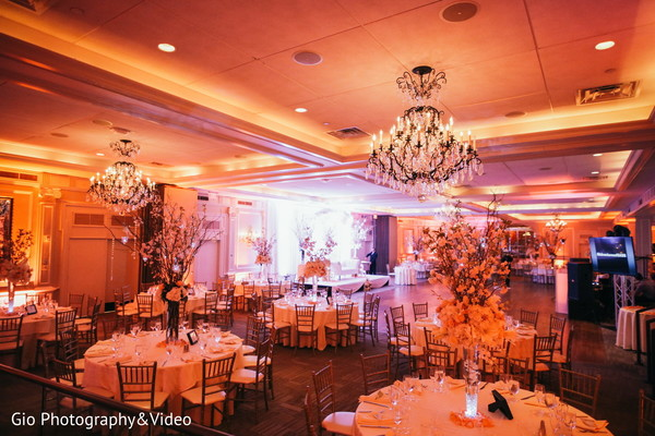 floral centerpieces,indian wedding reception decor,indian wedding reception