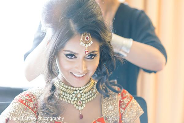 Bold Bridal Makeup