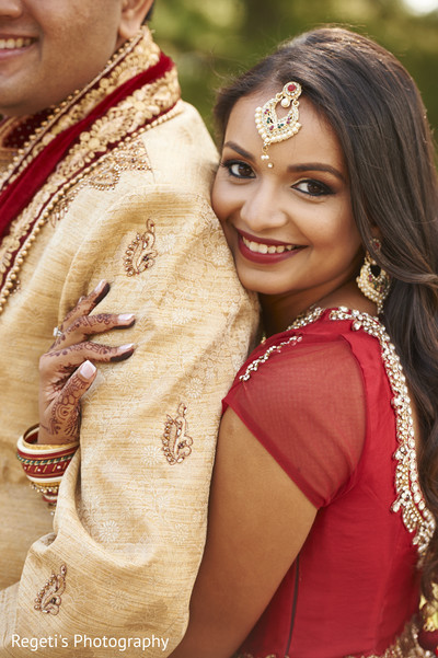 Enchanting indian bride. in Herndon, VA Indian Wedding by Regeti's Photography