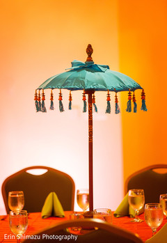 indian sangeet,umbrella decor