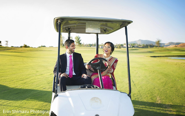 golf car photoshoot,pre wedding photoshoot ideas,maharani