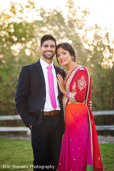 pre wedding photoshoot,colored sari,indian groom fashion