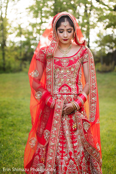 Lovely maharani in her wedding sari in sterling va sikh wedding lovely maharani in her wedding sari junglespirit Image collections