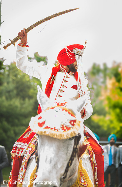 indian wedding baraat,white horse for baraat,indian groom