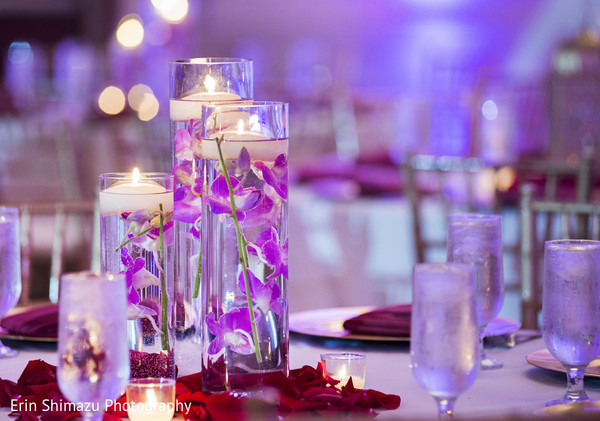 candle decor,indian wedding reception floral and decor