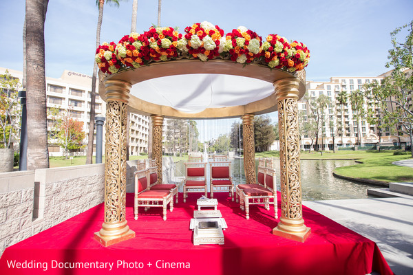 flower mandap,indian wedding ceremony floral and decor,indian wedding planning & design