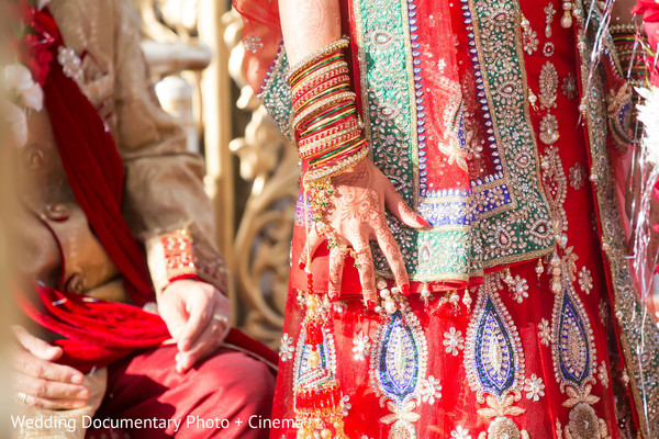 indian bride,bride bangles,indian wedding gallery
