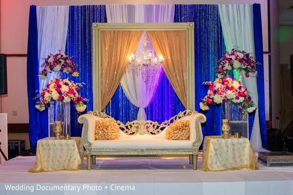 reception stage,indian weddings,indian wedding