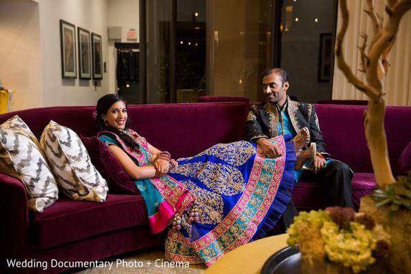 pre-wedding reception photography,indian bride and groom