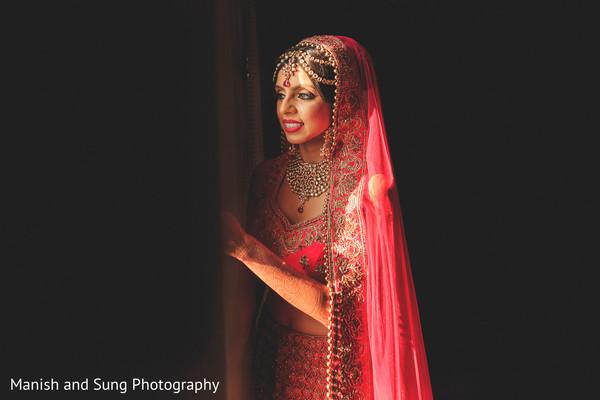 pre wedding south asian bridal portrait