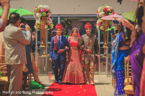 indian wedding lengha,indian bridal lengha,indian wedding lehenga,indian bridal fashions,here comes the bride,bride enters,aisle runner,bride entry,indian bride entry,south asian bride entry