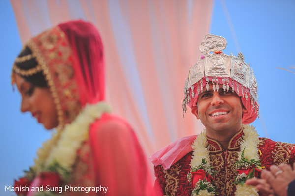 Pheras at South Asian Wedding