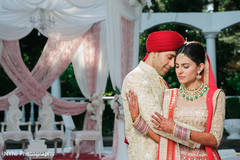 South asian wedding portraits
