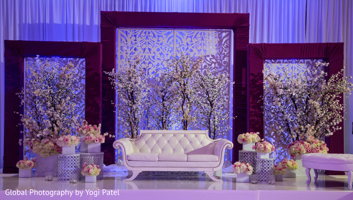 reception stage,indian weddings