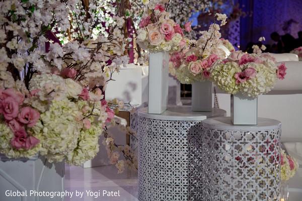 indian weddings,indian wedding reception floral & decor