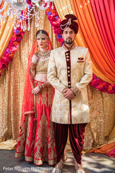 Indian Bride and Groom Fashion