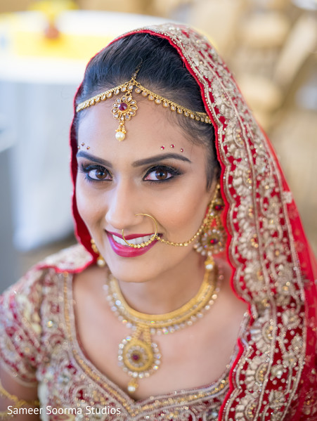 indian bride,indian bridal make up
