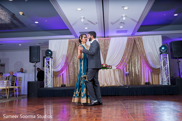 dj & entertainment,reception stage,indian wedding reception,indian weddings