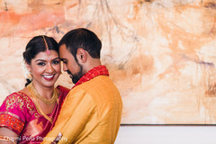 Portrait of South Indian couple