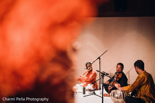 Traditional carnatic musicians