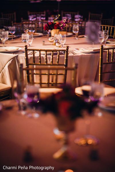 Indian reception tablescape details