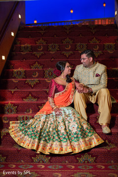 indian wedding sangeet portraits,indian wedding party portraits,indian sangeet