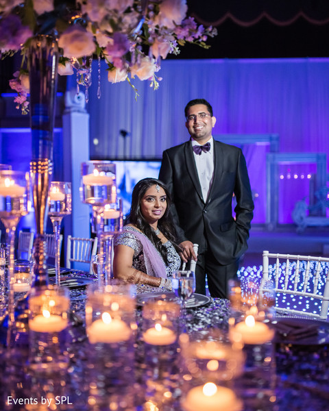 indian wedding reception,indian wedding portrait,couple portrait reception