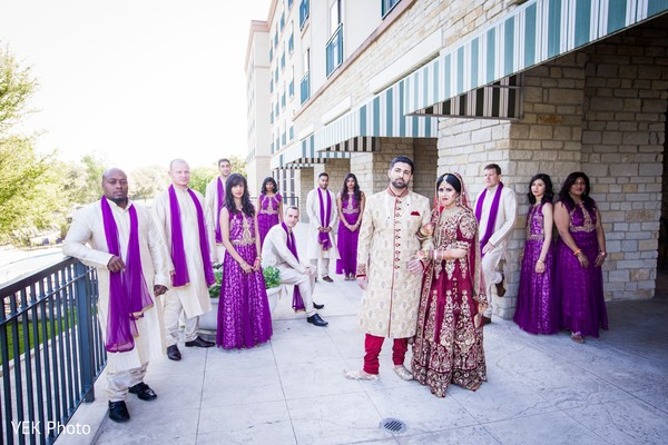 indian groomsmen,indian bridesmaids,indian bride
