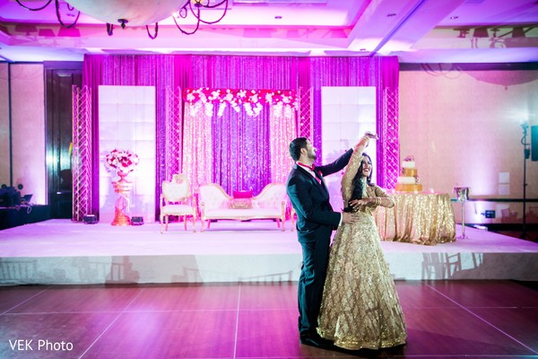 indian bride and groom first dance,wedding first dance