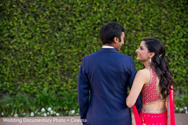 indian wedding couple,wedding photoshoot ideas,indian fusion wedding reception