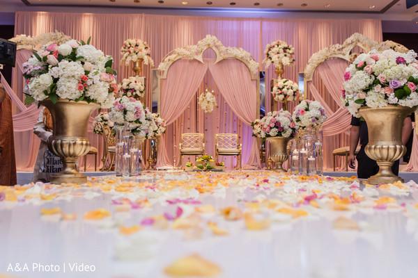 Beautiful Indian wedding stage