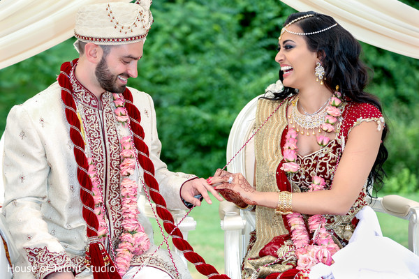 red scarf,indian wedding lengha