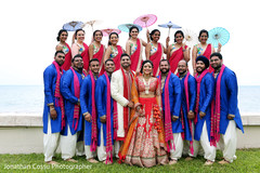 indian wedding party,indian wedding party portraits,wedding party picture,indian wedding pre-wedding photos